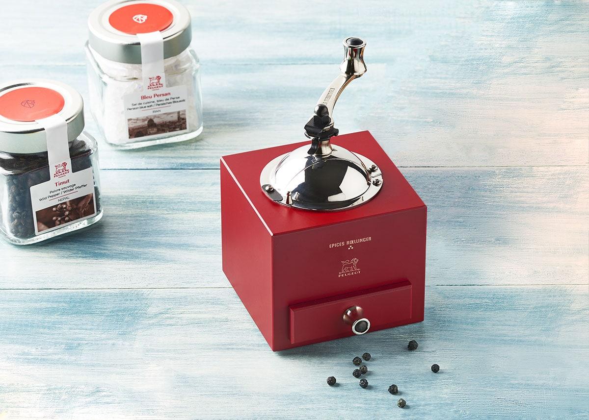 design produit moulin à poivre peugeot saveur