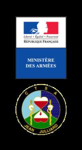 Logo CTSA- Armée française