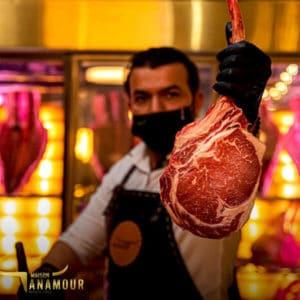 Identité visuelle du restaurant Maison Anamour